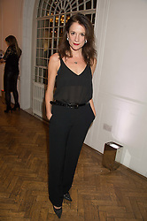 RAQUEL CASSIDY at a gala dinner to celebrate 15 Years of mothers2mothers hosted by Annie Lennox held at One Marylebone, 1 Marylebone Road, London NW1on 3rd November 2015.