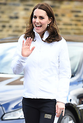 The Duchess of Cambridge visits Bond Primary School to see the work of the Wimbledon Junior Tennis Initiative (WJTI) in Mitcham, London, UK, on the 17th January 2018. 17 Jan 2018 Pictured: The Duchess of Cambridge visits Bond Primary School to see the work of the Wimbledon Junior Tennis Initiative (WJTI) in Mitcham, London, UK, on the 17th January 2018. Photo credit: James Whatling / MEGA TheMegaAgency.com +1 888 505 6342