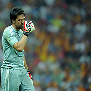 Liverpool's goalkeeper DONI during their Friendly soccer match Galatasaray between Liverpool at the TT Arena at Arslantepe in Istanbul Turkey on Saturday 28 July 2011. Photo by TURKPIX