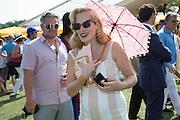 CHARLOTTE DELLAL, Veuve Clicquot Gold Cup, Cowdray Park, Midhurst. 21 July 2013