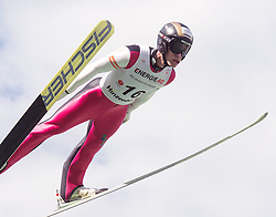 27.09.2015, Energie AG Skisprung Arena, Hinzenbach, AUT, FIS Ski Sprung, Sommer Grand Prix, Hinzenbach, im Bild Roman Koudelka (CZE) // during FIS Ski Jumping Summer Grand Prix at the Energie AG Skisprung Arena, Hinzenbach, Austria on 2015/09/27. EXPA Pictures © 2015, PhotoCredit: EXPA/ Reinhard Eisenbauer
