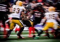 Ottawa RedBlacks vs Edmonton Eskimos at TD Place Stadium in Ottawa, ON. Canada on  September 28, 2019.<br /> <br /> PHOTO: Steve Kingsman/Freestyle Photography