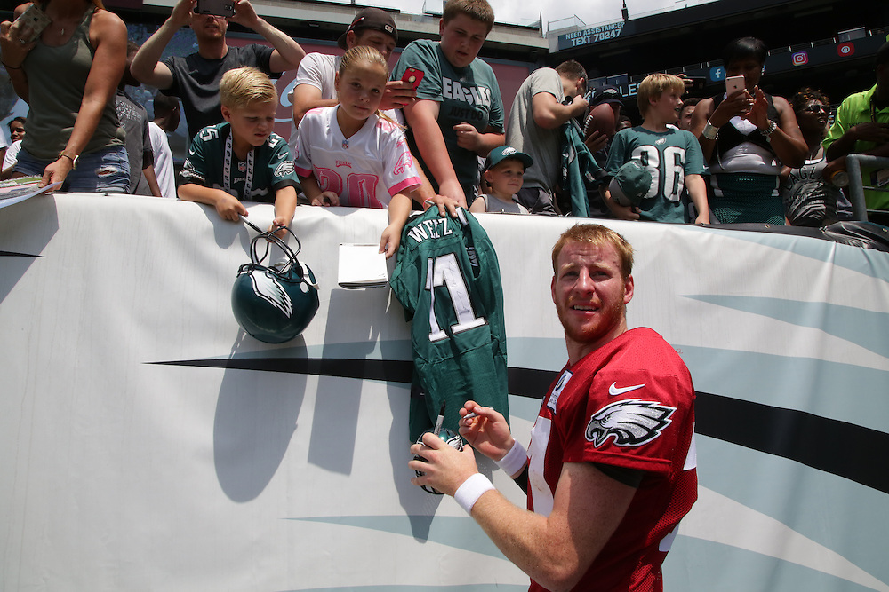 Philadelphia Eagles Training Camp at Lincoln Financial Field