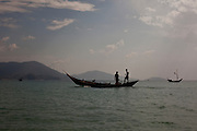 Fisherman in the shores of Tezit Beach, Tanintharyi Region, Burma.<br /> Note: These images are not distributed or sold in Portugal