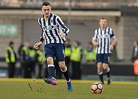 Football - 2016 / 2017 FA Cup - Fifth Round: Millwall vs. Leicester City <br /> <br /> Shaun Williams of Millwall at The Den<br /> <br /> COLORSPORT/DANIEL BEARHAM