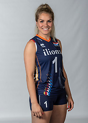 10-05-2018 NED: Team shoot Dutch volleyball team women, Arnhem<br /> Kirsten Knip #1 of Netherlands