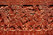MEXICO, MEXICO CITY, MUSEUM Aztec: Tizoc Stone dedicated to the sun