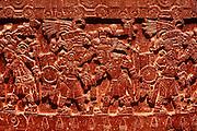 MEXICO, MEXICO CITY, MUSEUM Aztec: Tizoc Stone dedicated to the sun