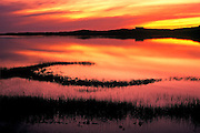 Image of a dramatic sunset on Cape Cod, Massachusetts, New England by Randy Wells
