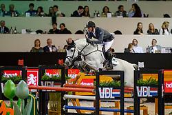 Vrieling Jur, NED, Dallas VDL<br /> The Dutch Masters<br /> Indoor Brabant - 's Hertogen bosch 2018<br /> © Dirk Caremans<br /> 10/03/2018