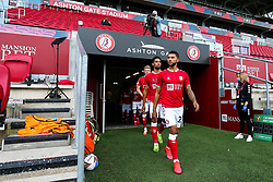 Nahki Wells of Bristol City - Rogan/JMP - 05/09/2020 - Ashton Gate Stadium - Bristol, England - Bristol City v Exeter City - Carabao Cup First Round.
