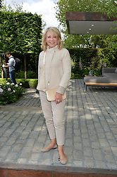 ELAINE PAIGE at the 2016 RHS Chelsea Flower Show, Royal Hospital Chelsea, London on 23rd May 2016