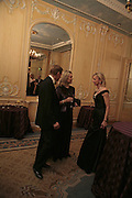Earl  of Derby and  Mrs. Arnaud Bamberger and the Countess of Derby, Cartier Racing Awards , Four Seasons Hotel, Hamilton Place, London, W1, 15 November 2006. ONE TIME USE ONLY - DO NOT ARCHIVE  © Copyright Photograph by Dafydd Jones 66 Stockwell Park Rd. London SW9 0DA Tel 020 7733 0108 www.dafjones.com