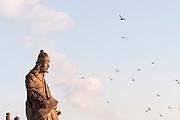 Congonhas_MG, Brasil...Escultura de Aleijadinho (Antonio Francisco Lisboa) no Santuario de Bom Jesus do Matozinhos em Congonhas. ..The Aleijadinho (Antonio Francisco Lisboa) sculpture in the sanctuary of Bom Jesus do Matozinhos in Congonhas...Foto: LEO DRUMOND / NITRO