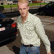 NLD/Noordwijk/20060829 - Nederlands Elftal komt bijeen voor de wedstrijd tegen Luxemburg, Martijn Meerdink