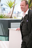 Christian Gregori at the photo call for the film  Goodbye to Language (Adieu au langage) at the 67th Cannes Film Festival, Wednesday 21st  May 2014, Cannes, France.