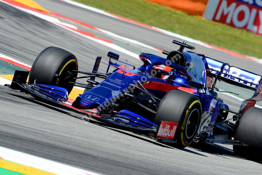 Daniil Kvyat (Toro Rosso-Honda) during practice before the 2019 Spanish Grand Prix at the Circuit de Barcelona-Catalunya. Photo: Grand Prix Photo