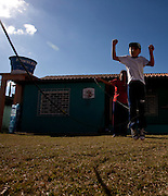 Ijaci_MG, Brasil...Brinquedoteca da cidade Ijaci, Minas Gerais. Na foto, a brinquedista mostra tipos diferentes de boneca...Toy Library Ijaci city, Minas Gerais. In the photo, a woman shows different types of dolls...Foto: LEO DRUMOND / NITRO