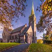 www.aziznasutiphotography.com                        Lademoen Church is a parish church in the municipality of Trondheim in Sør-Trøndelag county, Norway. It is located in the Lademoen area of the city of Trondheim, immediately north of the old European route E6 highway.