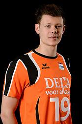25-04-2013 VOLLEYBAL: NEDERLANDS MANNEN VOLLEYBALTEAM: ROTTERDAM<br /> Selectie Oranje mannen seizoen 2013-2014 / Michael Parkinson<br /> ©2013-FotoHoogendoorn.nl