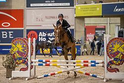 Stals Dylan, BEL, Ruby D.C.<br /> Pavo Hengsten competitie - Oudsbergen 2021<br /> © Hippo Foto - Dirk Caremans<br />  22/02/2021