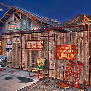 Wooden Shack Of Americana - Eldorado Canyon Techatticup Mine - Nelson NV - HDR