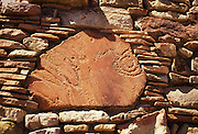 A petroglyph in the wall of the Watchtower, Grand Canyon National Park, Arizona, ..Subject photograph(s) are copyright Edward McCain. All rights are reserved except those specifically granted by Edward McCain in writing prior to publication...McCain Photography.211 S 4th Avenue.Tucson, AZ 85701-2103.(520) 623-1998.mobile: (520) 990-0999.fax: (520) 623-1190.http://www.mccainphoto.com.edward@mccainphoto.com.