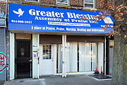 Greater Blessings Assembly of Praise Inc., 1360 Flatbush Avenue, Brooklyn.