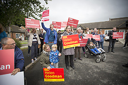 June 6, 2017 - Shildon, County Durham, United Kingdom - Labour protesters outside Foreign Secretary B. Johnson speech today on the General Election campaign at Shildon Civic Hall in County Durham. (Credit Image: © Andrew Mccaren/London News Pictures via ZUMA Wire)