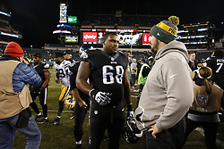 During the NFL game between the Green Bay Packers and the Philadelphia Eagles in Philadelphia, Pennsylvania on Monday November 28th 2016. The Packers won 27-13. (Brian Garfinkel/Philadelphia Eagles)