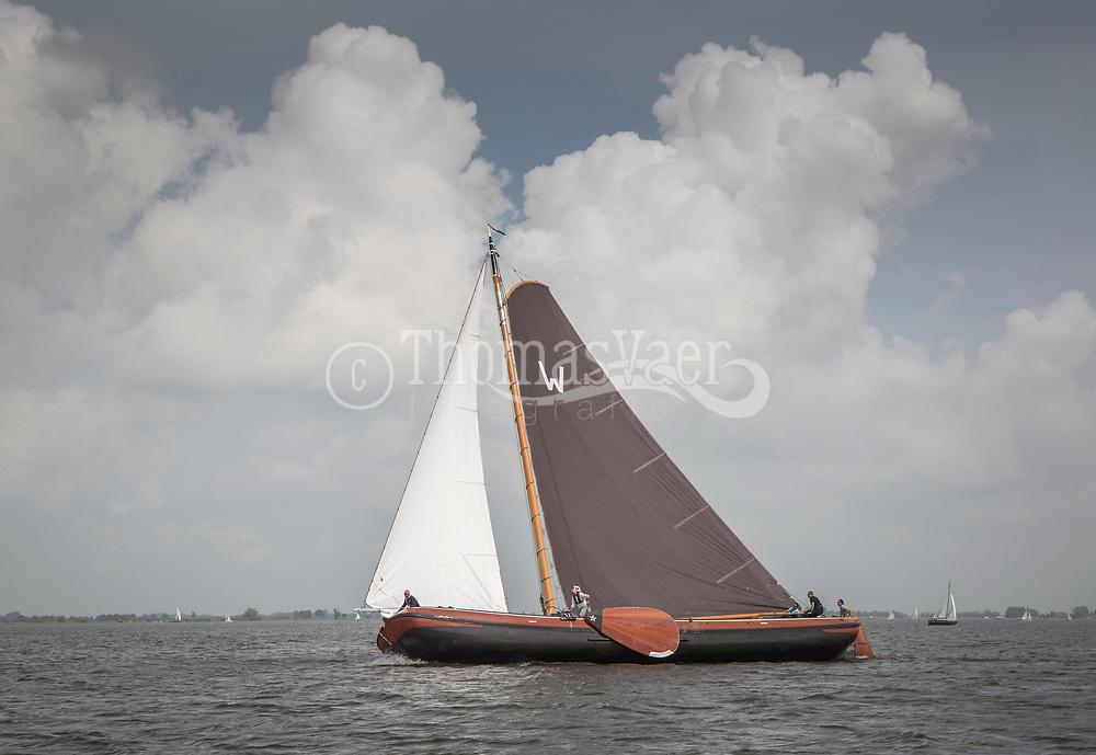 Op zaterdag 10 juni werd de jaarlijkse Waterpoortrace op het Sneekermeer gehouden. Deze zeilwedstrijd wordt onder auspiciën van de SKS-wedstrijdcommissie Sneek georganiseerd.