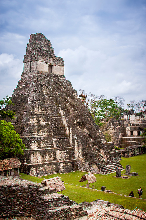 Temple of the Great Jaguar, or Tikal Temple I. Built around 732CE this is one of the largest temples in Tikal, which itself is one of the largest cities and archaeological sites of the pre-Columbian Maya civilization in Mesoamerica. Re-discovered by the West in 1848 and now another UNESCO world heritage site, even today approaching the temples through the jungle adds a wonderful sense of mystery and curiosity. Sitting on top of the temples looking out over the jungle equally adds to the fascination.