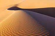 Sahara desert sand dunes, Erg Chebbi in Merzouga, Morocco.