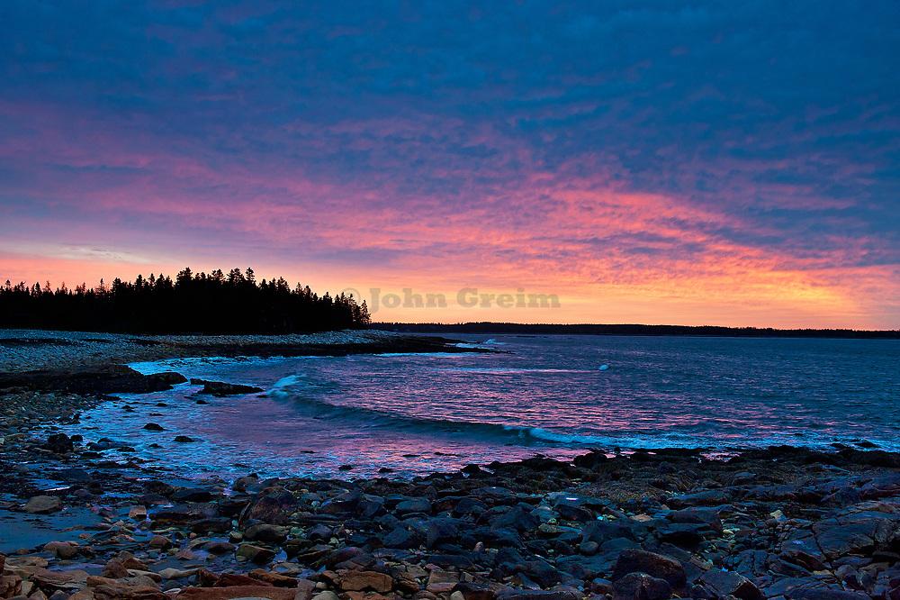 Seawall Beach, Acadia National Park, Southwest Harbor, Maine, USA