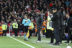 October 24, 2018 - Liverpool, England, United Kingdom - Liverpool coach Jurgen Klopp during the Uefa Champions League Group Stage football match n.3 LIVERPOOL - CRVENA ZVEZDA on 24/10/2018 at the Anfield Road in Liverpool, England. (Credit Image: © Matteo Bottanelli/NurPhoto via ZUMA Press)