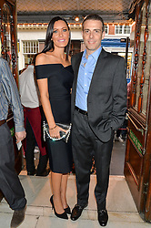 LINZI STOPPARD and WILL STOPPARD at a Gala Performance of Impossible at the Noël Coward Theatre, 85-88 Saint Martin's Lane, London on 13th July 2016.