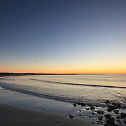 Today's Fall Sunrise  at Narragansett Town Beach, Narragansett, RI, September 25, 2013. #401 #surf #waves #beach #sunrise #fall #newengland #rhodeisland