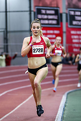 David Hemery Valentine Invitational<br /> Indoor Track & Field at Boston University , womens 3000 meters, heat 1,  , Bowerman TC, Nike, Elise Cranny, , Nike, Bowerman TC,