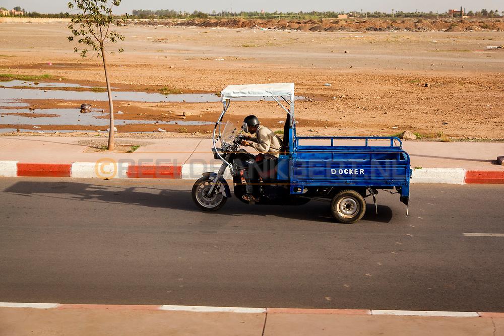 06-10-2015 -  Foto van Onderweg bij De stad van Marrakech in Marrakech, Marokko.