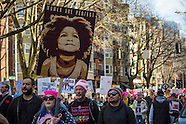 WOMEN'S MARCH, SEATTLE 2017