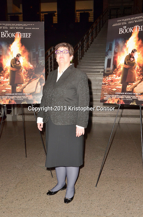 """WASHINGTON, DC - NOVEMBER 7: Producer Karen Rosenfelt attends the premiere of """"The Book Thief,"""" sponsored by the US Holocaust Museum at the United States Holocaust Memorial Museum on November 7, 2013 in Washington, DC. (Photo by Kris Connor/20th Century Fox)"""