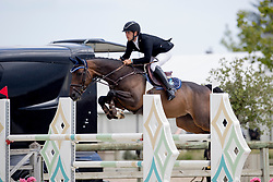 Palm Thibault, BEL, Jaika DS<br /> BK Young Horses 2020<br /> © Hippo Foto - Sharon Vandeput<br /> 6/09/20