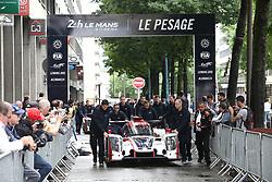 June 11, 2018 - Le Mans, FRANCE - 22 UNITED AUTOSPORT (GBR) LIGIER JSP217 GIBSON PHIL HANSON (GBR) FILIPE ALBUQUERQUE (PRT) PAUL DI RESTA  (Credit Image: © Panoramic via ZUMA Press)