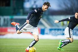 Falkirk's Lee Miller. <br /> Falkirk 1 v 1 Hibernian, Scottish Championship game played 17/1/2015 at The Falkirk Stadium.