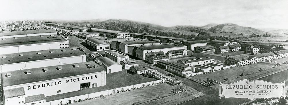 1930 Republic Studios on Ventura Blvd. in Studio City