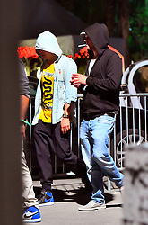EXCLUSIVE: Leonardo DiCaprio and Orlando Bloom were spotted hanging out at the Coachella Music & Arts Festival in Indio, CA. The two actors were seen hanging out inside the VIP area of the festival for about an hour before leaving the festival together and heading to the afterparties. Also seen hanging out with Leonardo and Orlando is Justin Bieber's ex Chantel Jeffries, who left the festival with them to hit up the afterparties. 16 Apr 2017 Pictured: Leonardo DiCaprio and Orlando Bloom were spotted hanging out at the Coachella Music & Arts Festival in Indio, CA. The two actors were seen hanging out inside the VIP area of the festival for about an hour before leaving the festival together and heading to the afterparties. Also seen hanging out with Leonardo and Orlando is Justin Bieber's ex Chantel Jeffries, who left the festival with them to hit up the afterparties. Photo credit: Marksman / MEGA TheMegaAgency.com +1 888 505 6342