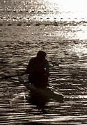 "Rio de Janeiro. BRAZIL.   General View at the sunrise in the boating park at the 2016 Olympic Rowing Regatta. Lagoa Stadium,<br /> Copacabana,  ""Olympic Summer Games""<br /> Rodrigo de Freitas Lagoon, Lagoa.   Thursday  11/08/2016 <br /> <br /> [Mandatory Credit; Peter SPURRIER/Intersport Images]"