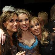 Premiere Songfestival in Concert, Laura Vlasblom, Brigitte Nijman en Ellen Evers
