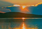 Sunset on Lac Forbes<br />Parc national du Mont-Tremblant (not a Canadian national park)<br />Quebec<br />Canada