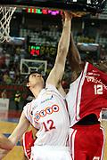 DESCRIZIONE : Roma Lega A1 2006-07 Lottomatica Virtus Roma Whirlpool Varese <br /> GIOCATORE : Lorbek <br /> SQUADRA : Lottomatica Virtus Roma <br /> EVENTO : Campionato Lega A1 2006-2007 <br /> GARA : Lottomatica Virtus Roma Whirlpool Varese <br /> DATA : 25/04/2007 <br /> CATEGORIA : Tiro<br /> SPORT : Pallacanestro <br /> AUTORE : Agenzia Ciamillo-Castoria/G.Ciamillo